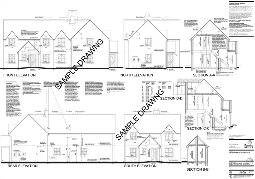 Ik Building Design Planning Applications Drawings
